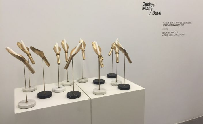 Candleholders by Karim Chaya at Art Factum Gallery